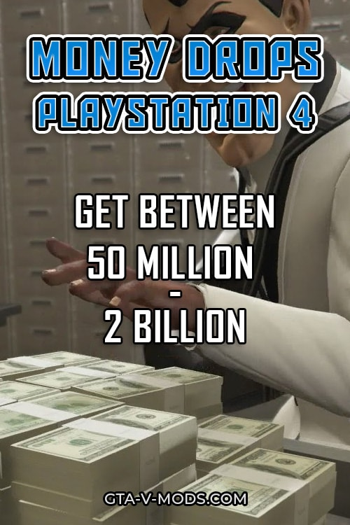 GTA 5 Money Drop for PlayStation 4